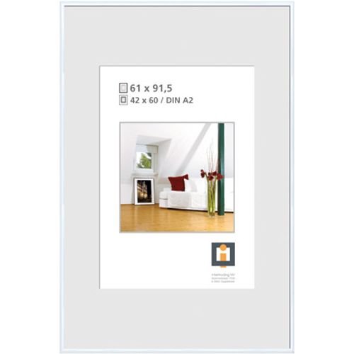 Intertrading fotolijst wit 61 x 91,5 cm
