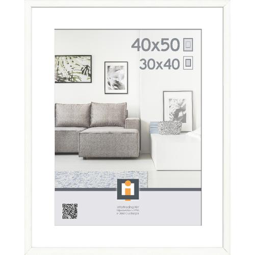 Intertrading fotolijst 'Goteborg' hout wit 40 x 50 cm