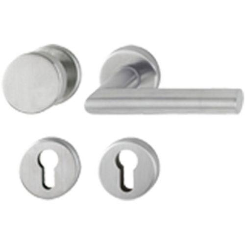 Hoppe rvs deurklink/-knop roz. e58/42kv/42kvs/1400z