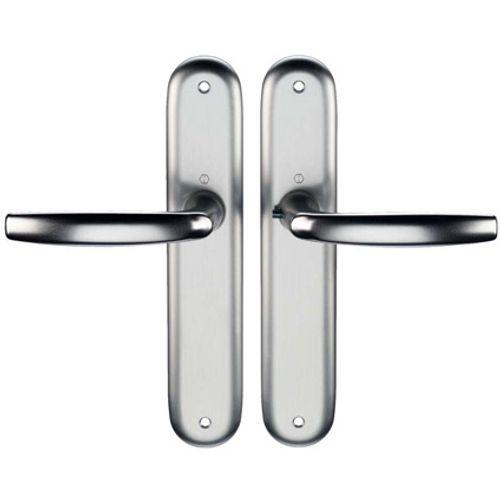 Hoppe krukken aluminium f1 schilden z/slg. 1530/273p