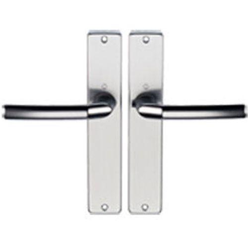Hoppe krukken aluminium f1 schilden z/slg. 1117/202sp2