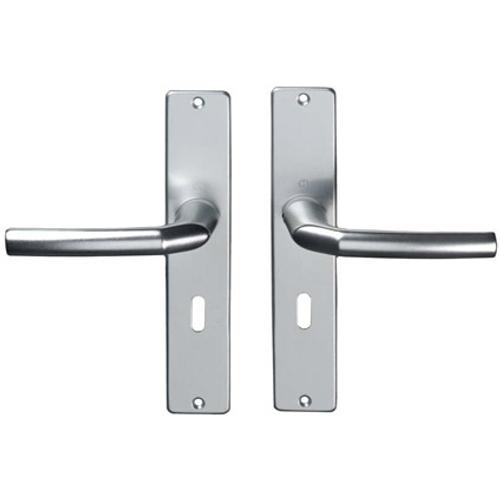 Hoppe krukken aluminium f1 schilden slg.56 1117/202sp2