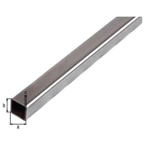 GAH Alberts vierkante buis staal grijs 2 m x 2 cm