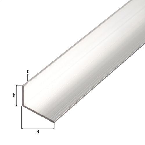 GAH Alberts hoekprofiel aluminium 40x20x2mm 2m