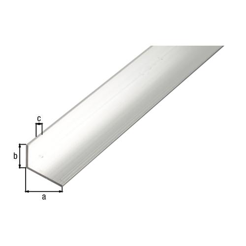 GAH Alberts L-hoekprofiel aluminium grijs 1 m x 3 cm