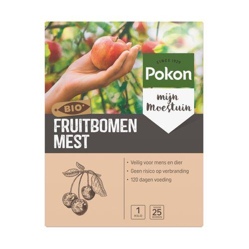 Pokon meststof Bio Fruitbomen voeding 1kg