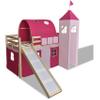 Hoogslaper Princes met ladder en glijbaan (naturel)