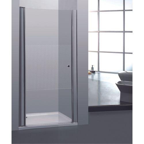 Porte de douche pivotante Allibert Priva 90x190cm petits carrés