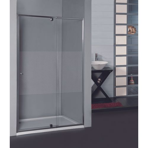 Porte de douche pivotante réglable Allibert Priva 97-110x190cm