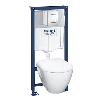 Pack wc suspendu Grohe Serel 3/6 L