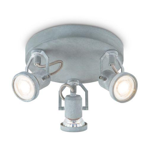 Home Sweet Home spot LED Must grijs 3x5,8W