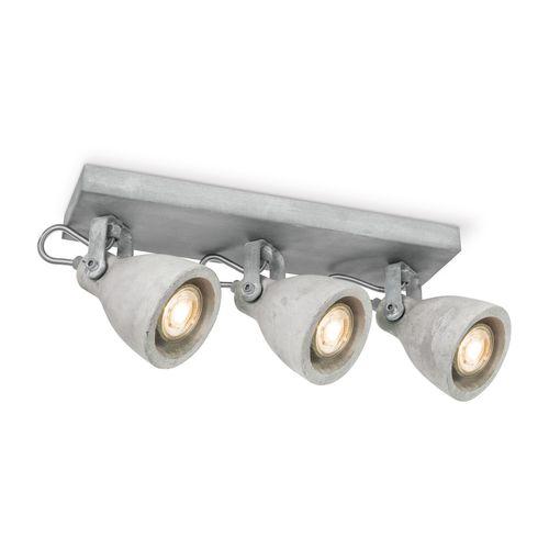 Home Sweet Home spot LED Vedi grijs 3x5,8W
