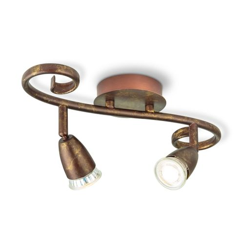 Home Sweet Home spot LED Curl bronze 2x5,8W