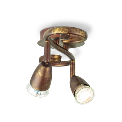 Home Sweet Home spot LED Curl brons 2x5,8W