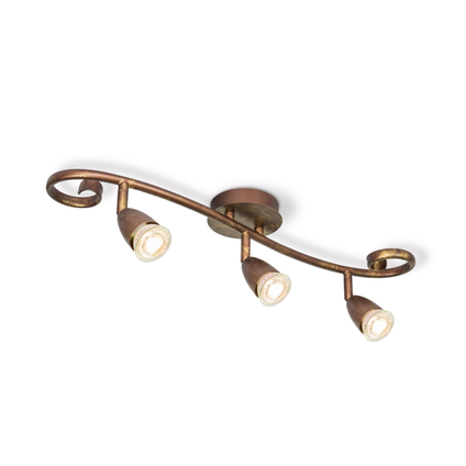Home Sweet Home spot LED Curl brons 3x5,8W
