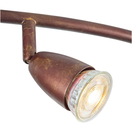 Home sweet home spotlamp 'Curl' brons 4 x 5,8 W