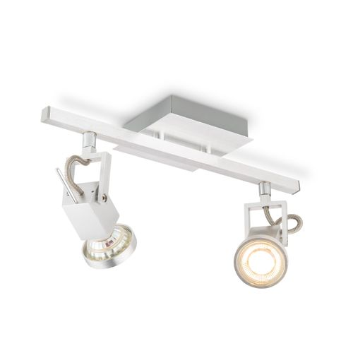 Home Sweet Home spot LED Cali aluminium 2x5,8W