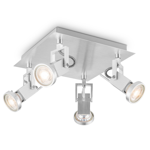 Home Sweet Home spot LED Cali aluminium 22cm 4x5,8W