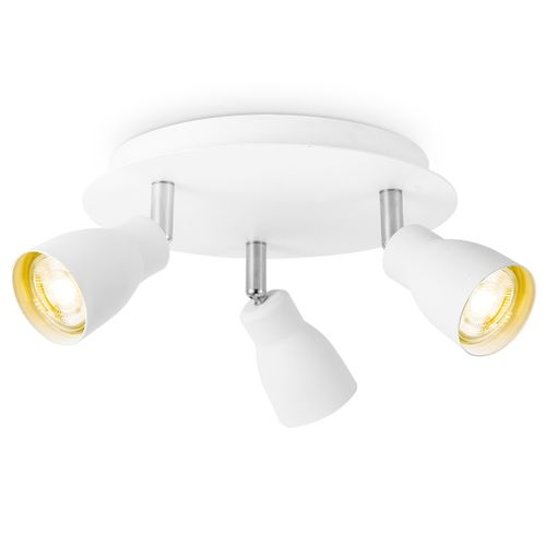 Home Sweet Home spot LED Alba blanc 3x5,8W