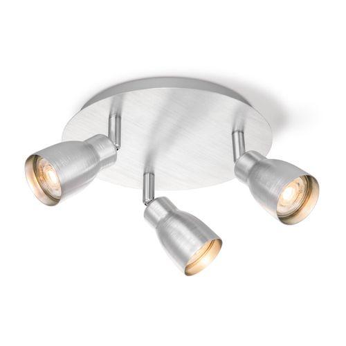 Home Sweet Home spot LED Alba aluminium Ø22cm 3x5,8W