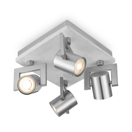 Home Sweet Home spot LED Concrete grijs 4x5,8W