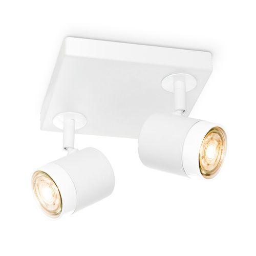 Home Sweet Home spot LED Manu blanc 16cm 2x5,8W