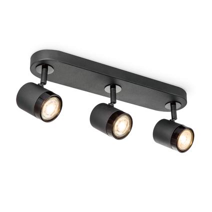 Home Sweet Home spot LED Manu zwart 3x5,8W