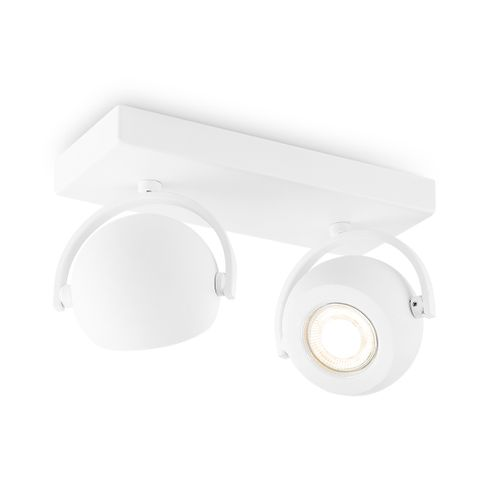 Home Sweet Home spot LED Nop wit 2x5,8W