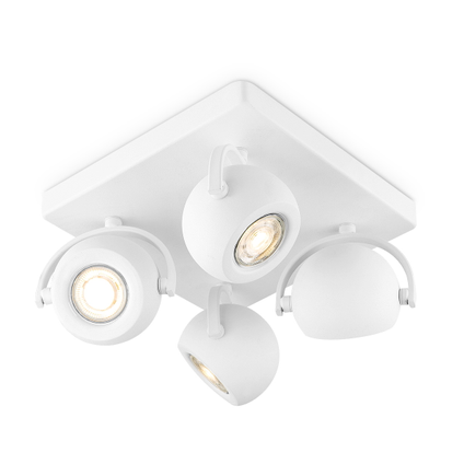Home Sweet Home spot LED Nop wit 4x5,8W