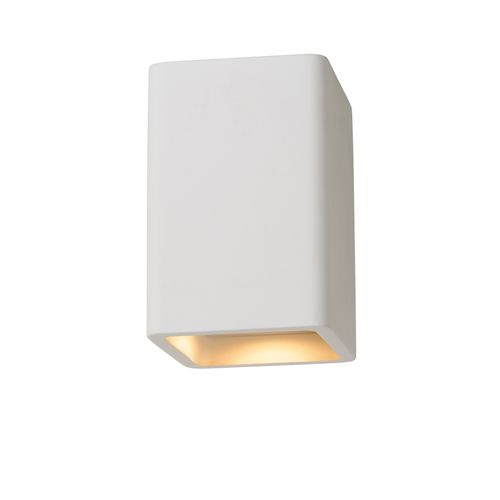 Lucide plafondlamp Gipsy wit GU10