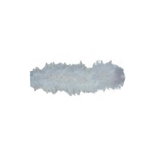 Central Park kerstslinger boa wit 2 m x 8 cm