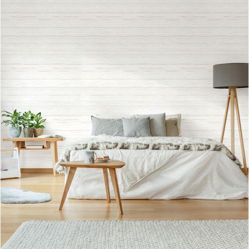 DecoMode vliesbehang Textiel taupe