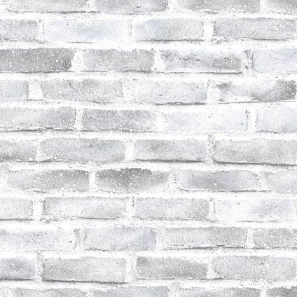 Papier peint intissé DecoMode Pierre gris
