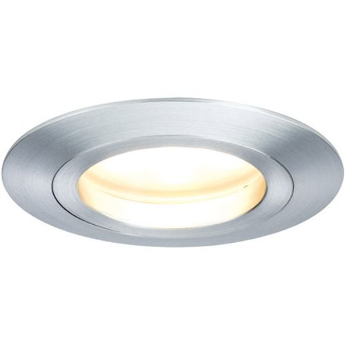 Paulmann LED Coin 7W satijn dim alu