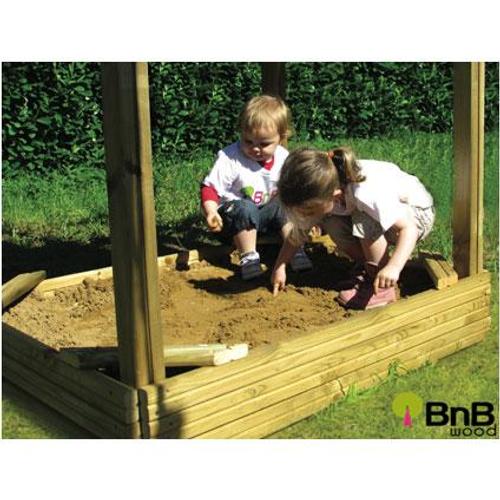 Bac à sable pour tour BnB Wood 'Lola'
