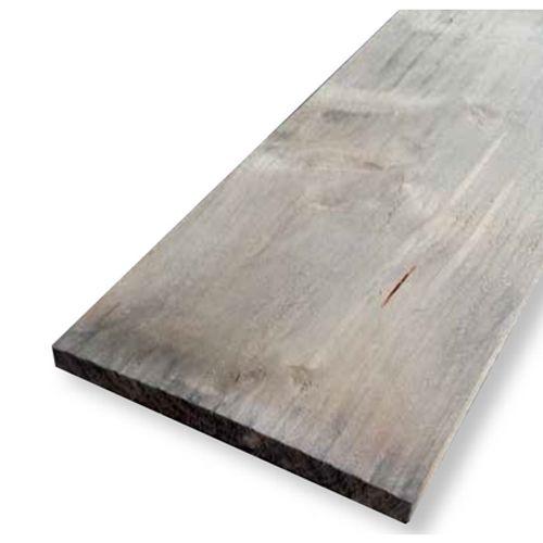 Planche en bois pin gris 250x19,5x3cm