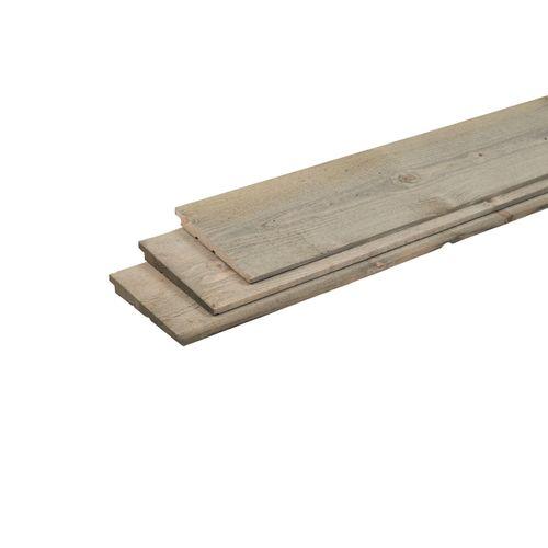 Planche pour palissade 'Vintage Grey' 300 x 19,5 x 2,2 cm