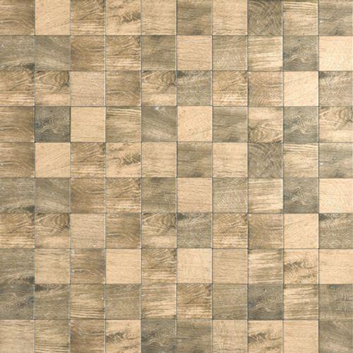 Carrelage sol 'Ecotimber' oak 10 x 10 cm