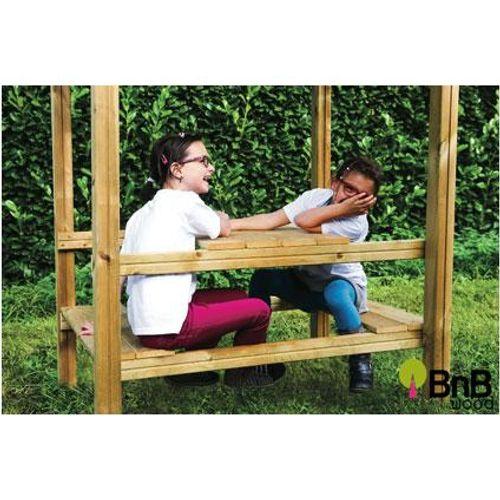BnB Wood Claudia picnictafel