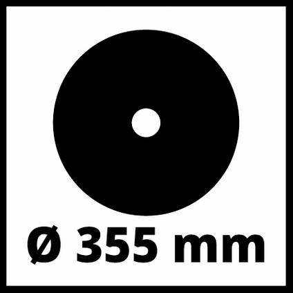 Einhell afkortzaag TCMC355 2300W