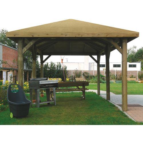 Solid prieel S7714 geïmpregneerd hout 347x629cm