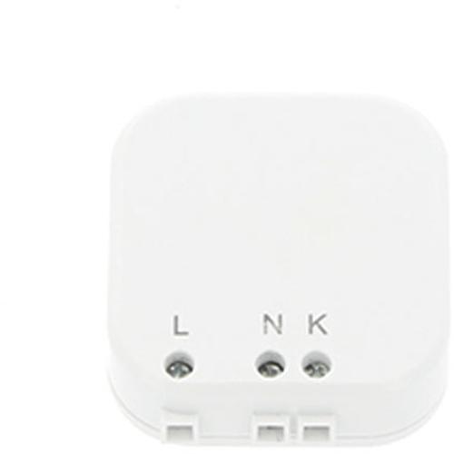 Emetteur RF mini à encastrer Profile 'Qnect' mural blanc