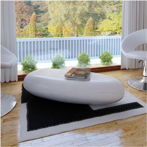 Salontafel design hoogglans wit