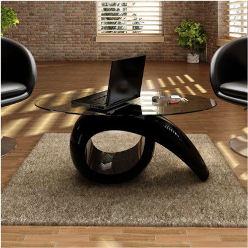 Salontafel alpha design zwart