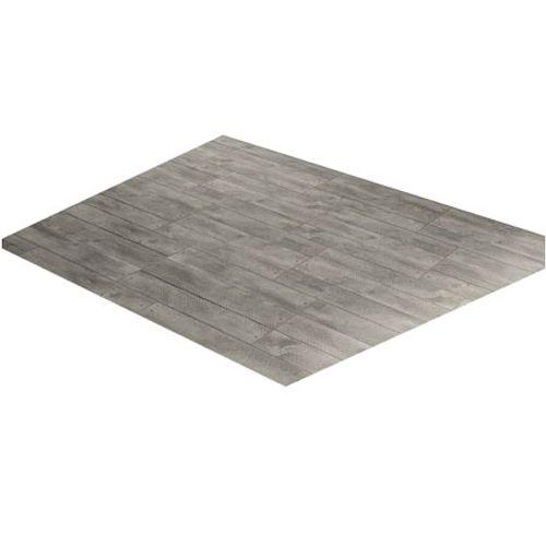 Carrelage sol terrasse 'Doghe' effet bois gris 30,5 x 61 cm