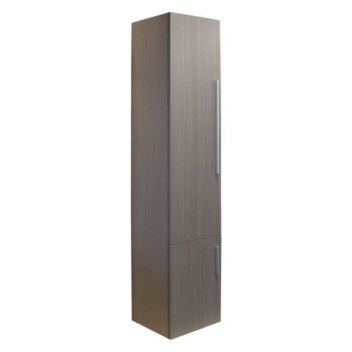 Differnz kolomkast Style 33x35x165cm links grijs eiken
