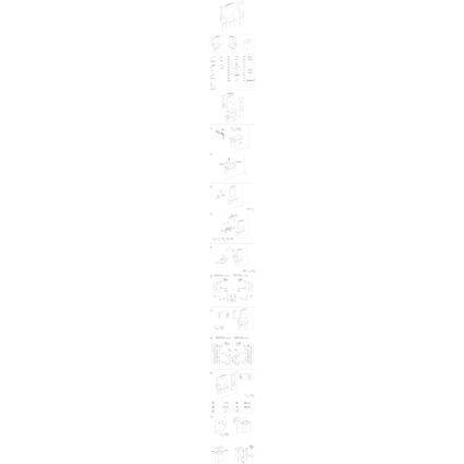 Differnz kolomkast Fabulous 179cm wit