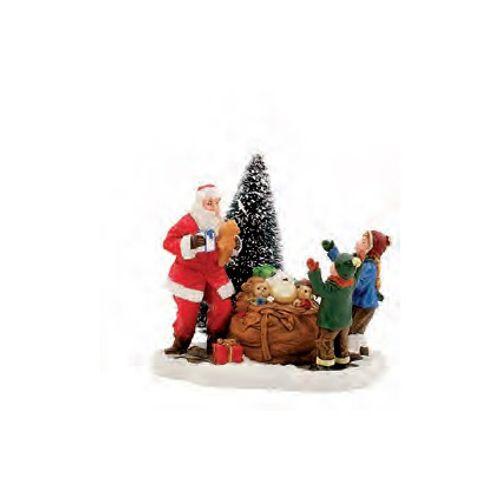 Luville beeldje geschenk Kerstam 8 x 6 x 6 cm