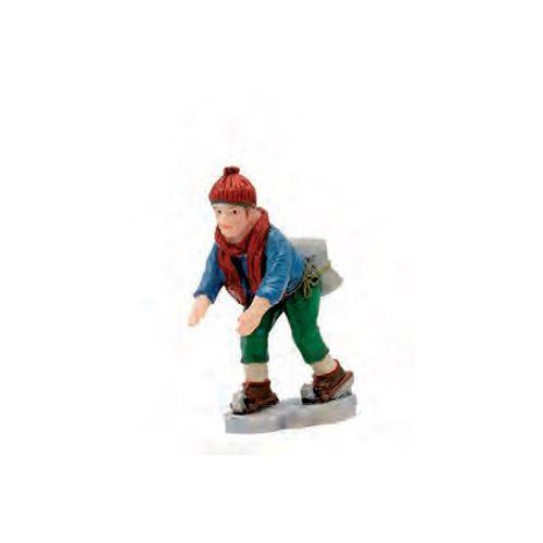 Figurine Luville patineur 2,5 x 10,5 x 2 cm