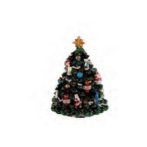 Figurine Luville boite à musique arbre de Noël 16,5 cm